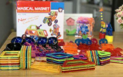 Đồ chơi lego với bộ Xếp hình Lắp Ráp Nam châm từ Magical Magnet